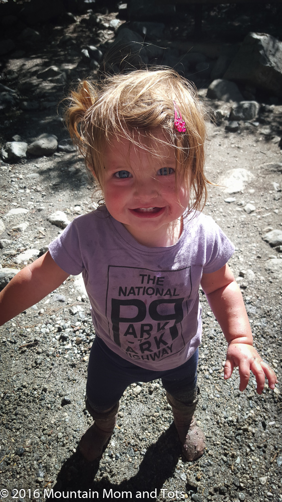 Baby L on the National Park to Park Highway
