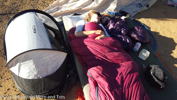 Camping Resources Sleeping