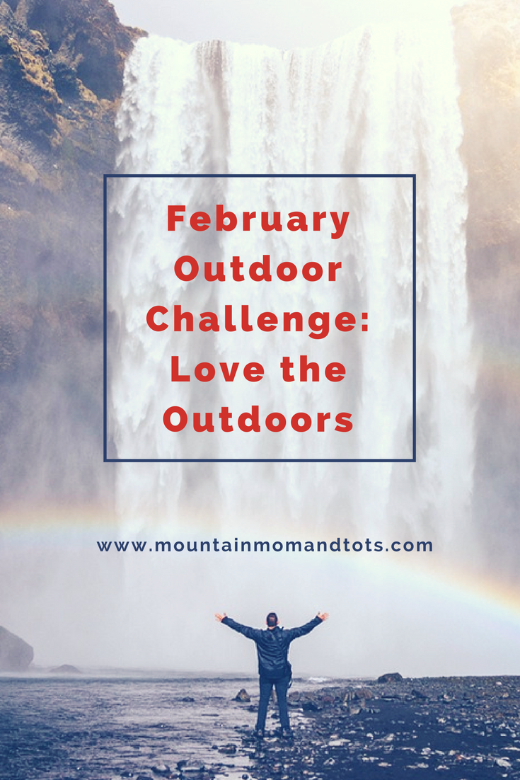 February Outdoor Challenge Pin