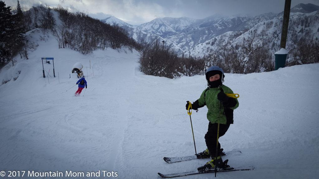 Dress kids for winter -Big E skiing