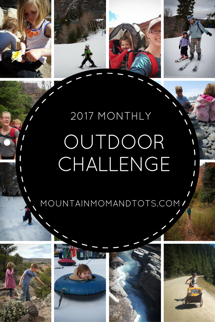 Monthly Outdoor Challenge Pin