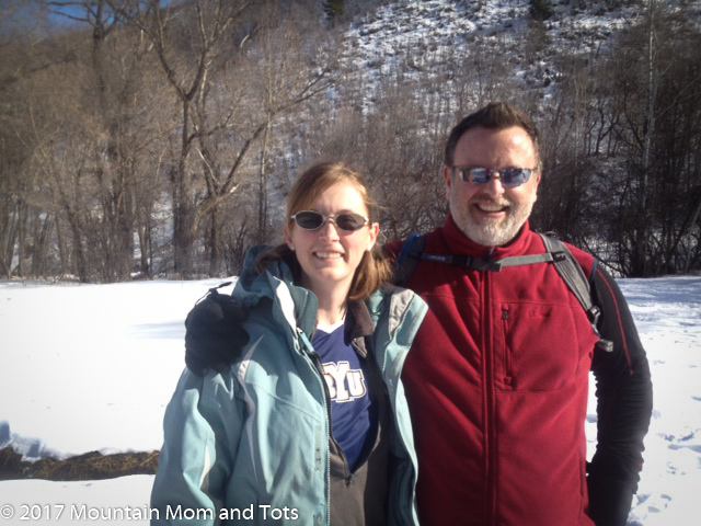Mountain Mom and Dad without kids