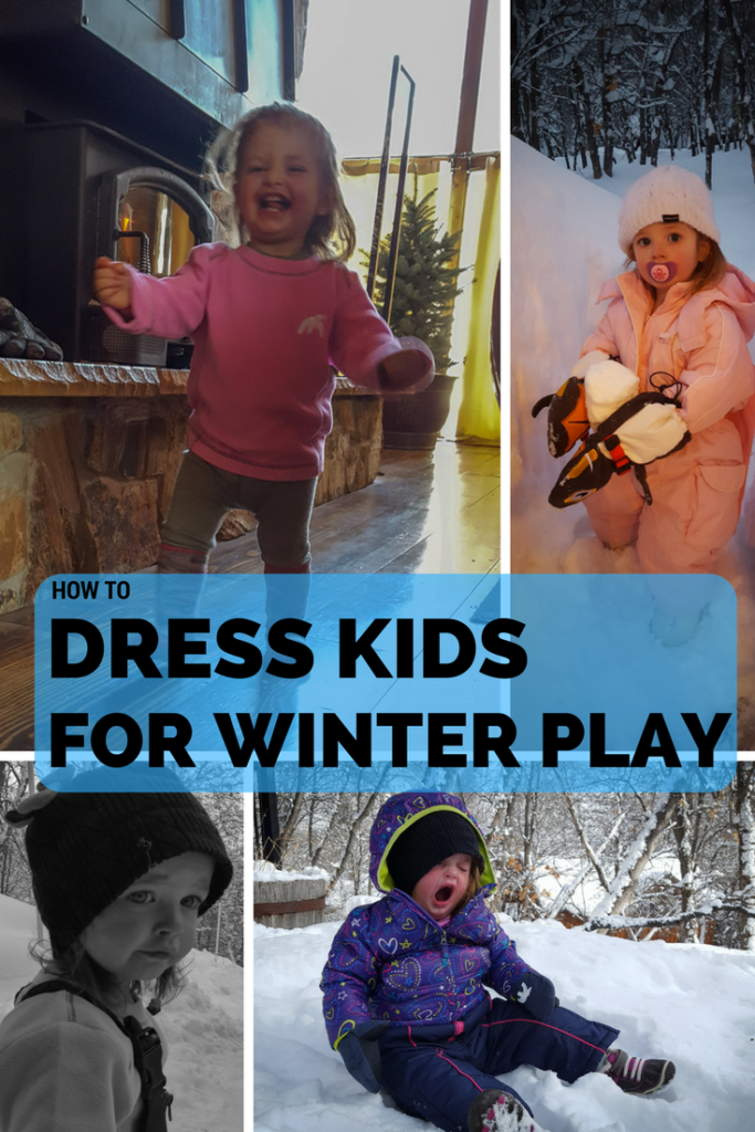 Dress Kids for Winter Player -Layering