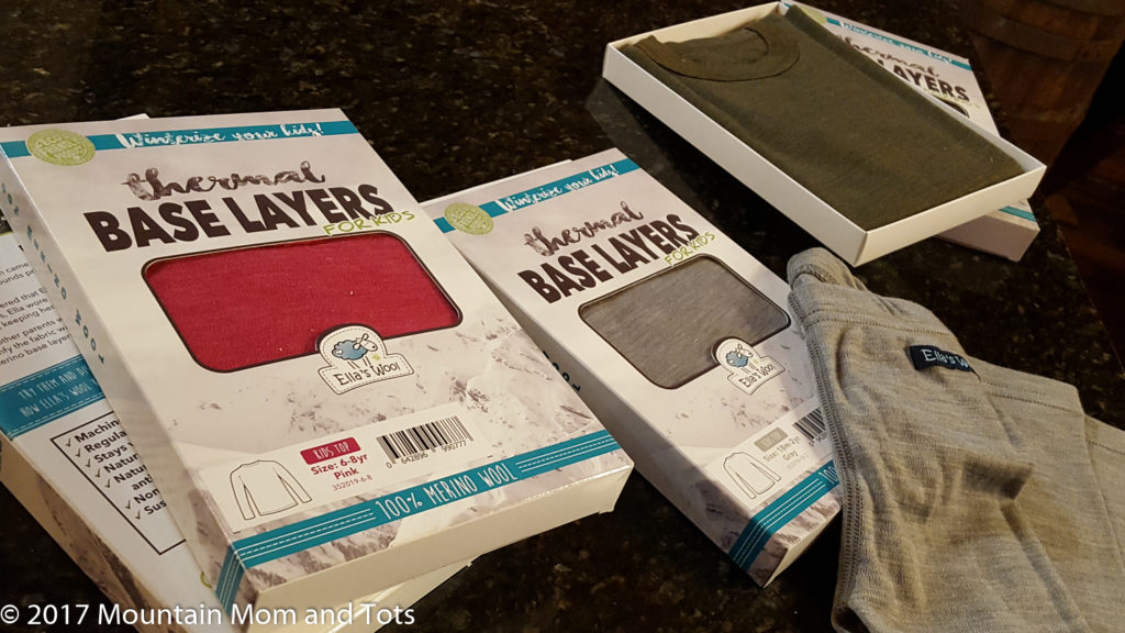 Dress kids for winter Base Layers