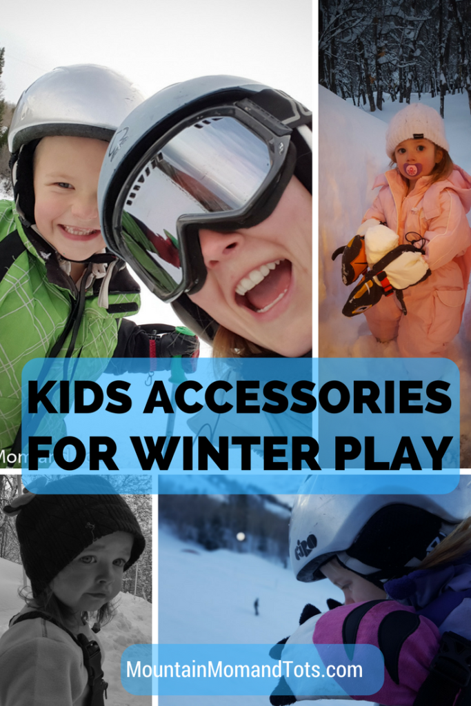 How to Dress Kids for Winter Play Accessories Pin