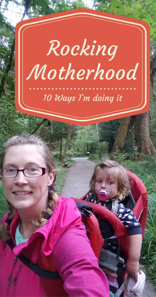 Rocking Motherhood Pin