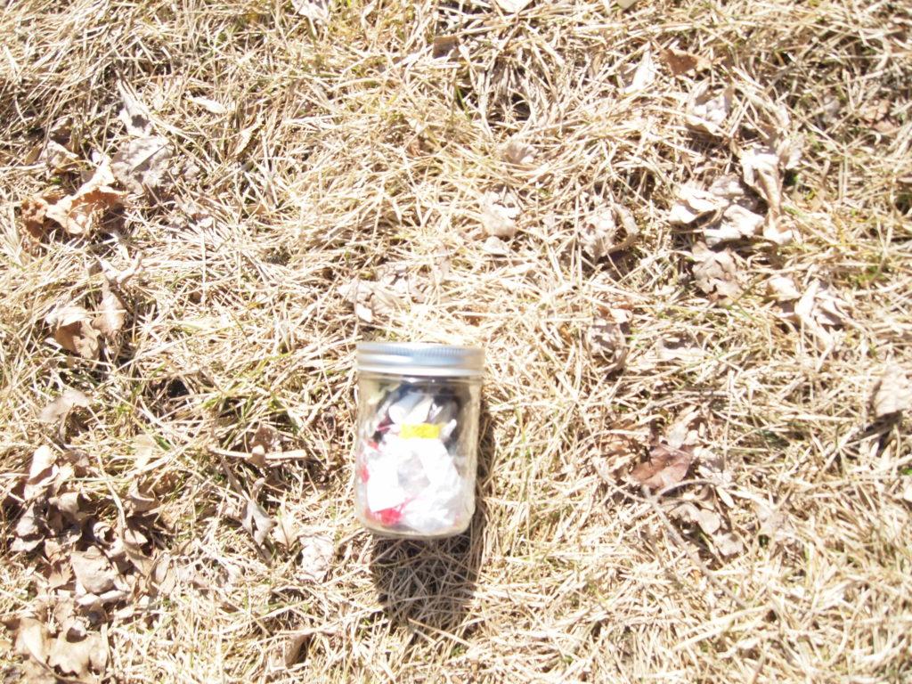 BorntobeAdventurous.com trash jar