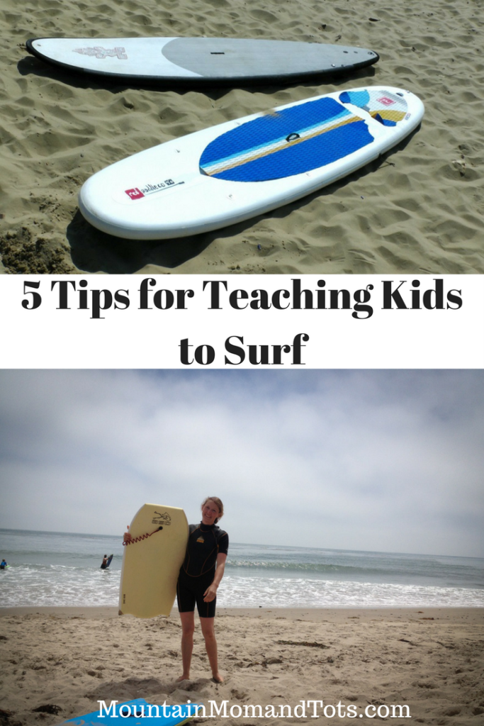 5 Tips for Teaching Kids to Surf