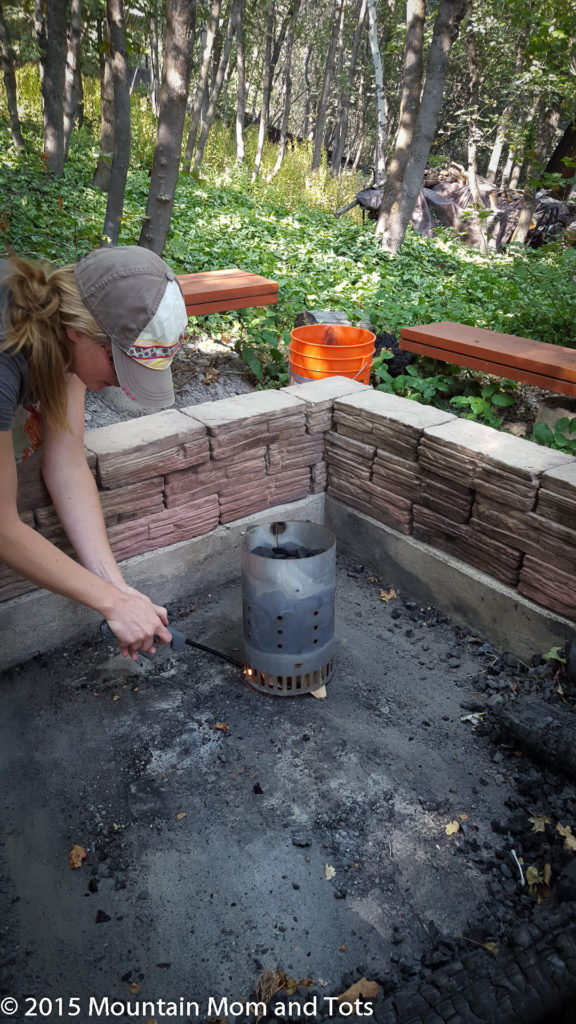 Dutch Oven Chimney Starter