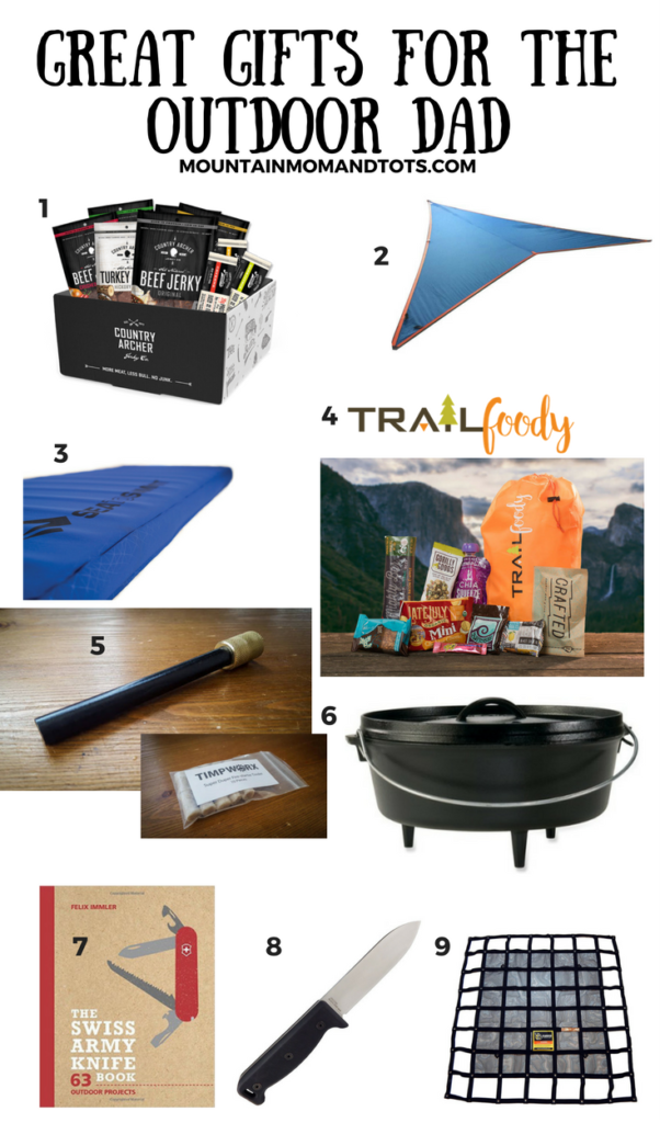 Great Gifts for the Outdoor Dad