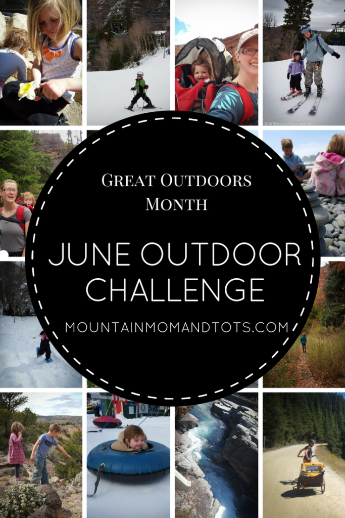 June Monthly Challenge Pin
