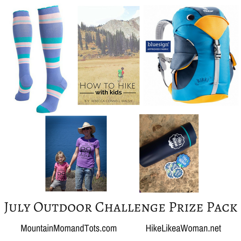 July Outdoor Challenge Prize Pack