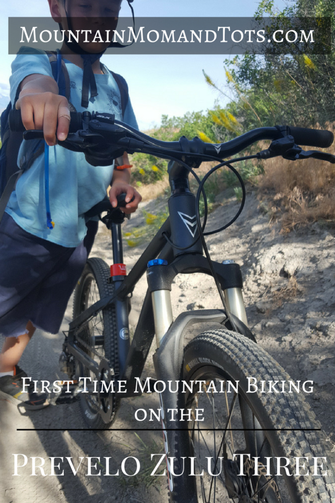 First time mountain biking with Prevelo