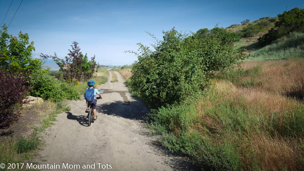 First Time Mountain Biking Trail