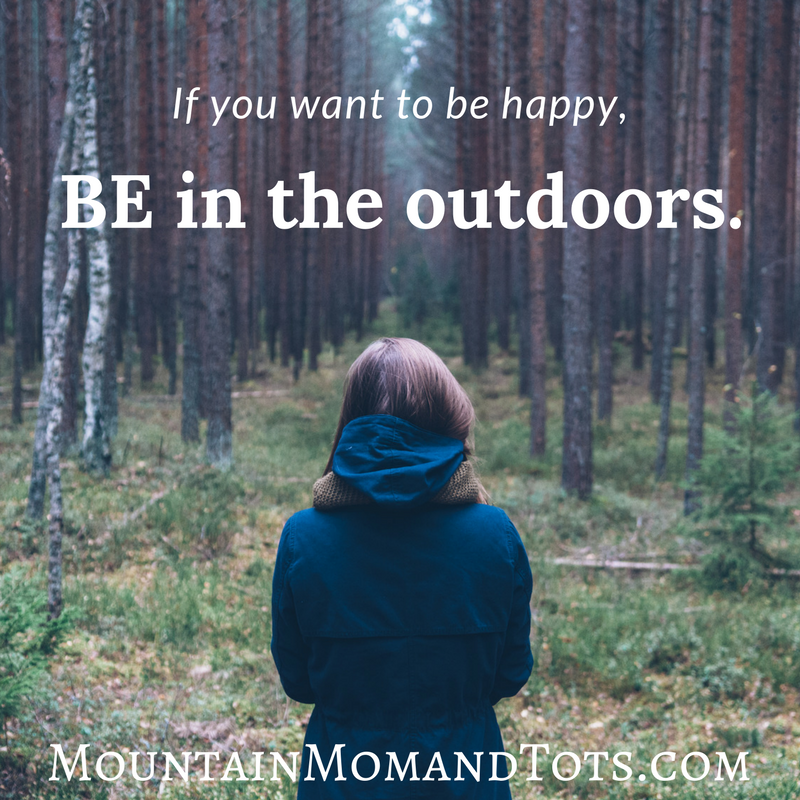 BE in the outdoors