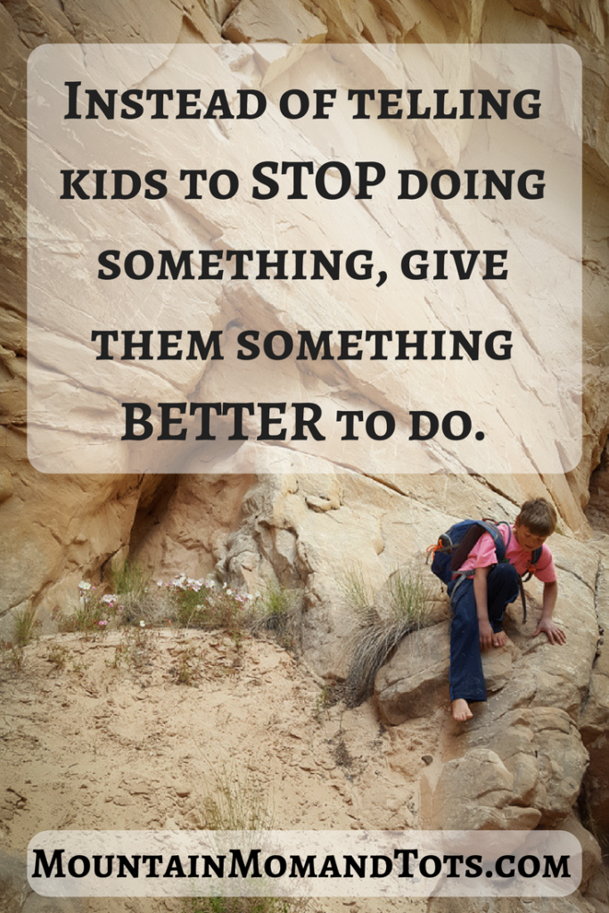 Give kids something better
