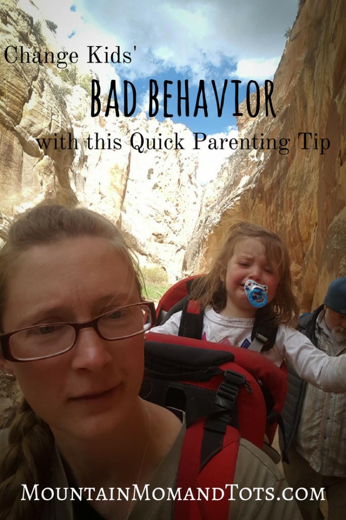 Change Kids Bad Behavior