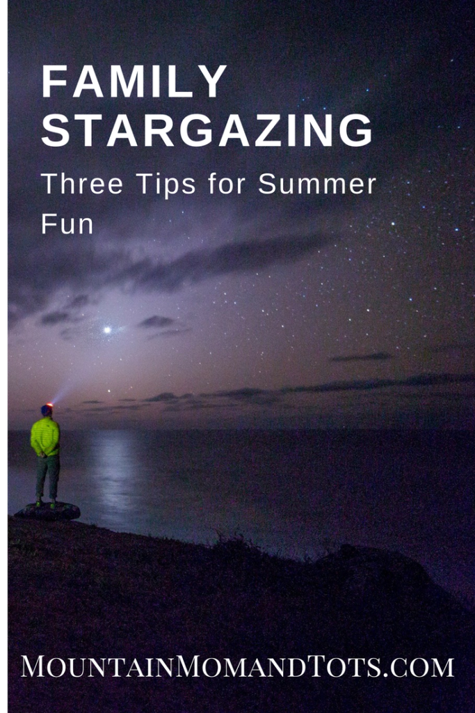 three tips for family stargazing