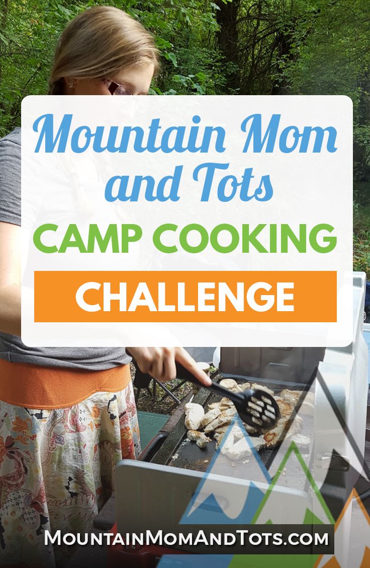 Camp Cooking Challenge Pin