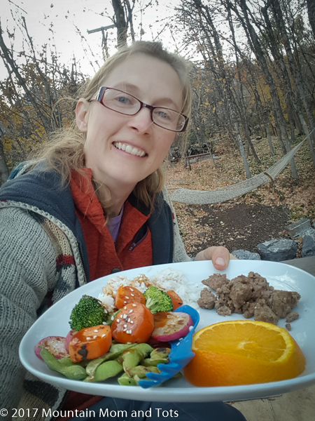 Camp Cooking Mountain Mom