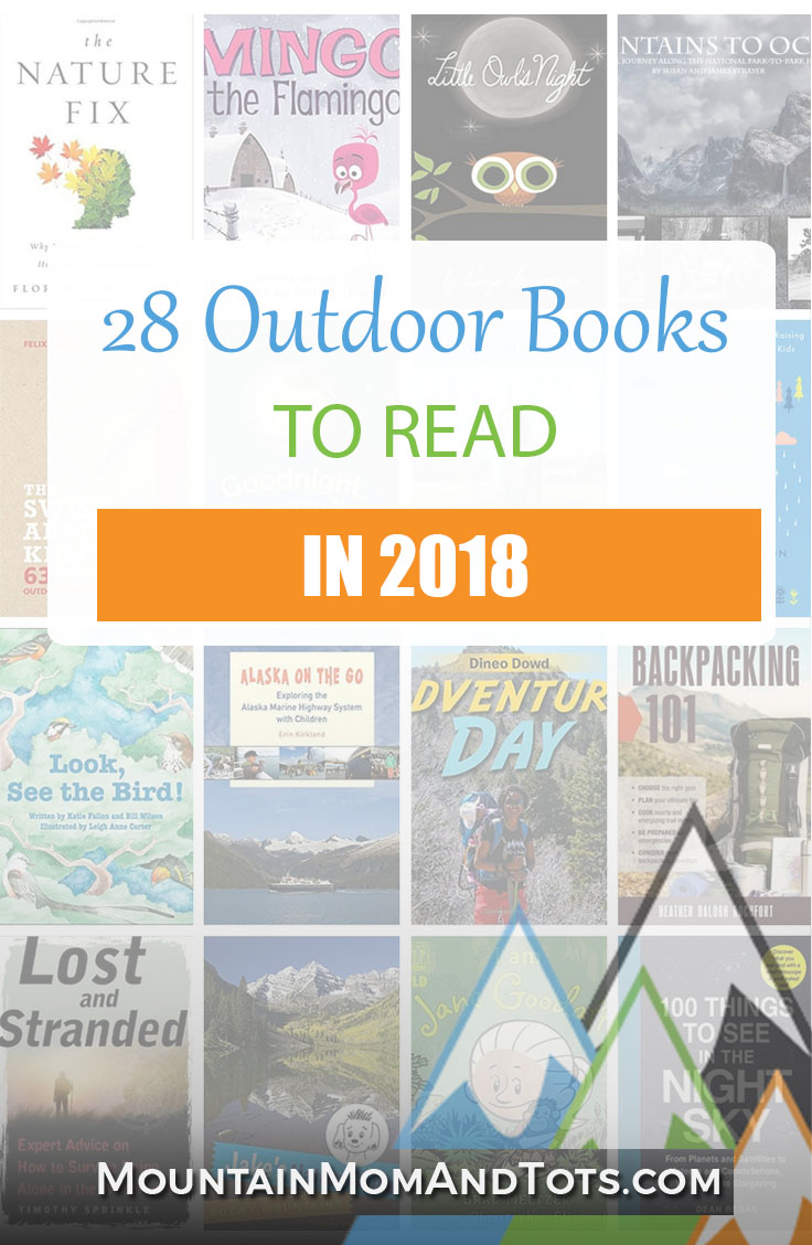 28 Outdoor Books for 2018