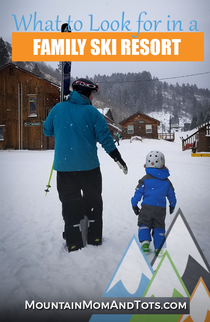 What to look for in a family friendly ski resort