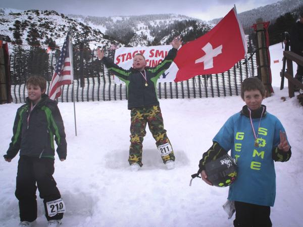 Stacy Smith Kid Ski Race Award