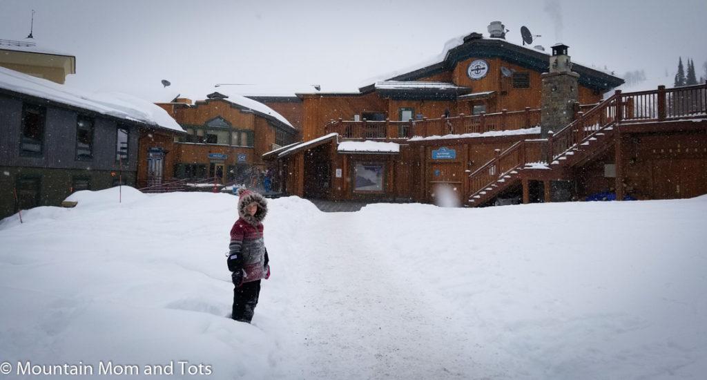 Grand Targhee Ski Resort Base